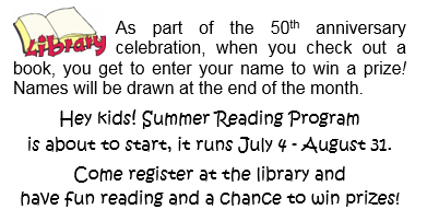 Summer Reading Program @ Hague Library | Hague | Saskatchewan | Canada