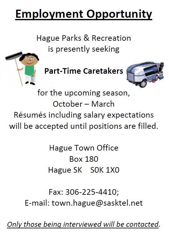 Parks & Recreation Hiring