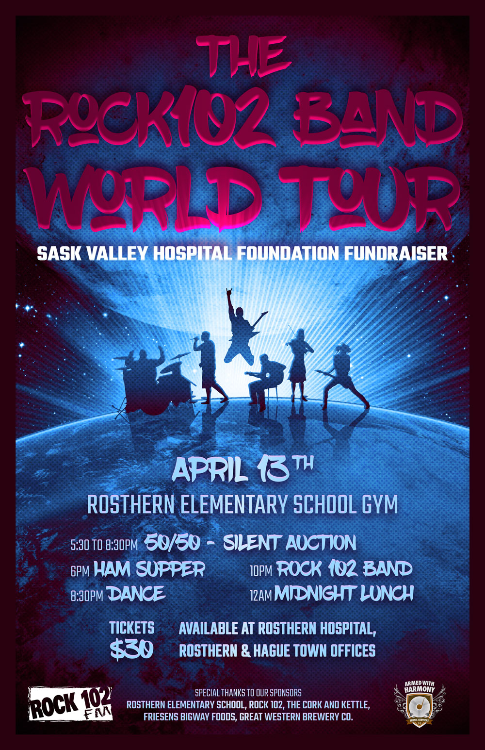 Sask Valley Hospital Foundation Fundraiser @ Rosthern Elementary School | Rosthern | Saskatchewan | Canada