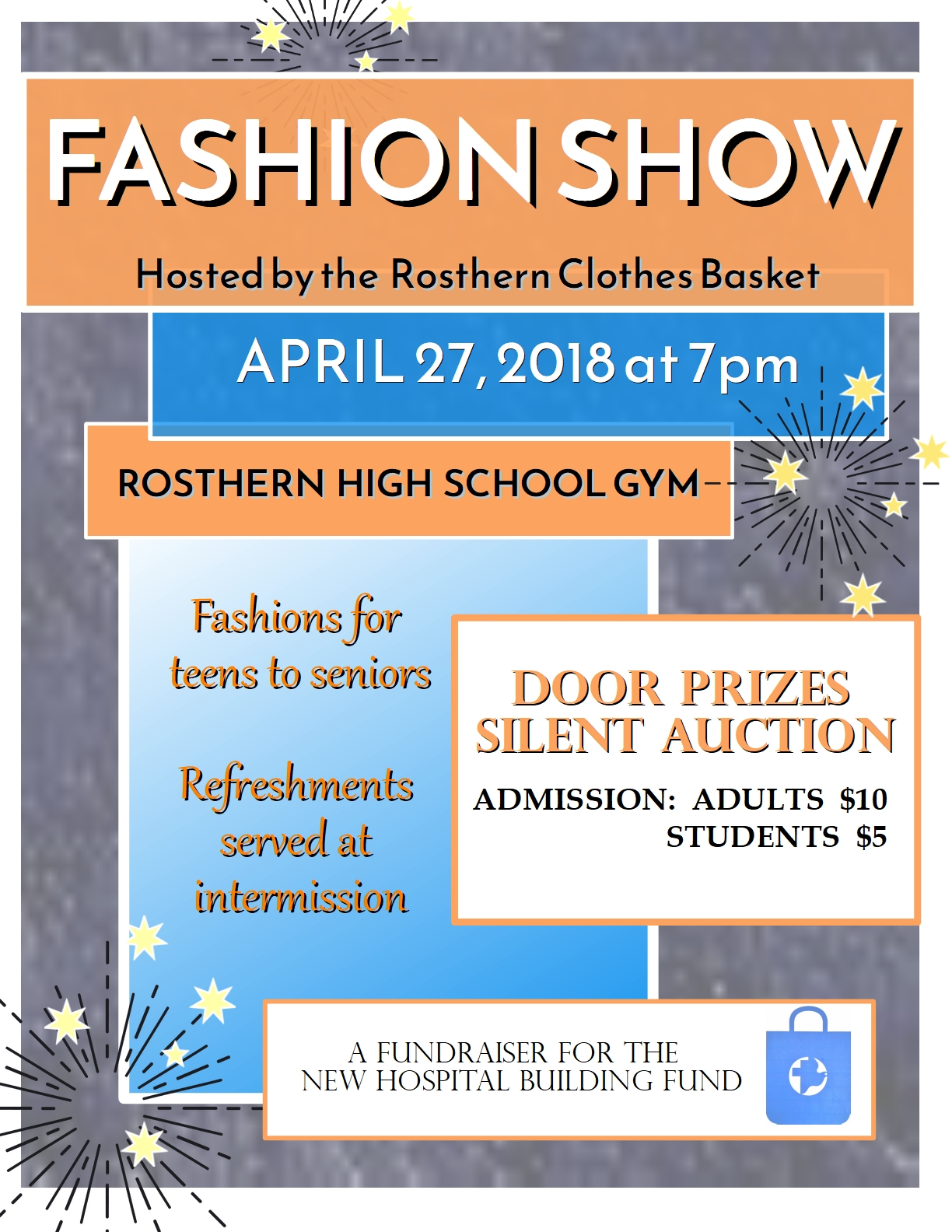 Fashion Show @ Rosthern High School Gym