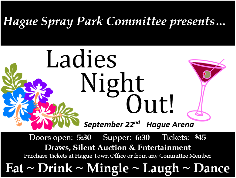 Ladies Night Out! @ Hague Arena | Hague | Saskatchewan | Canada