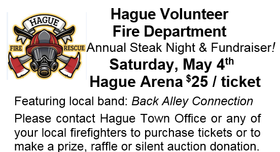 Hague Fire Department Steak Night