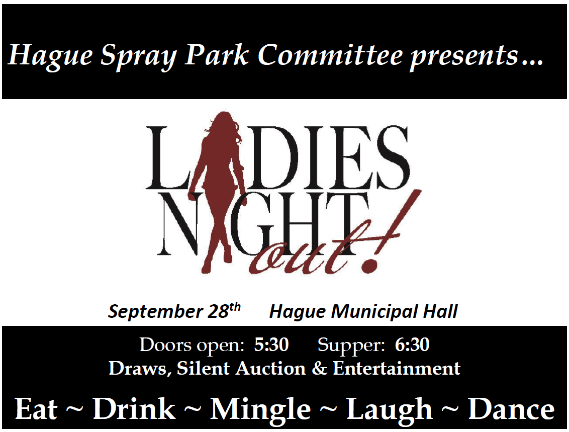Ladies Night Out! @ Hague Municipal Hall