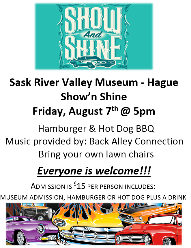 Show'n Shine @ Sask River Valley Museum