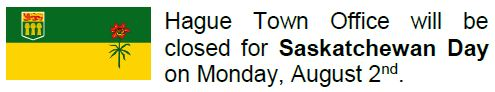 Hague Town Office Closed